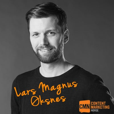 Jesper Laursen på Epic Content Marketing 2016