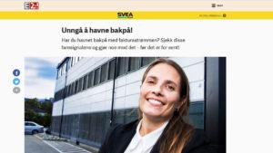 E24 Bak Tallene for Svea Finans