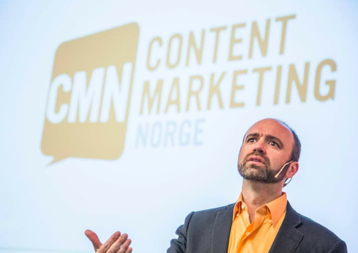Content Inc - Joe Pulizzi at Content Marketing Norge