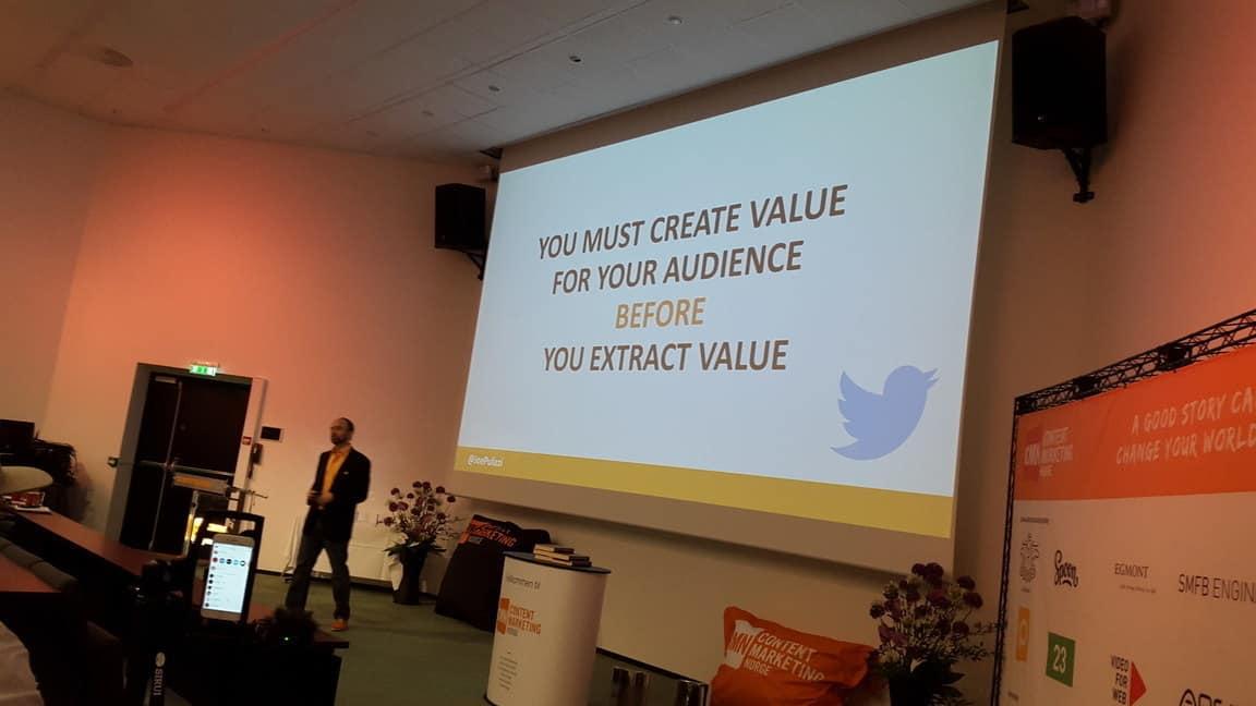 Skap verdi før du kapitaliserer