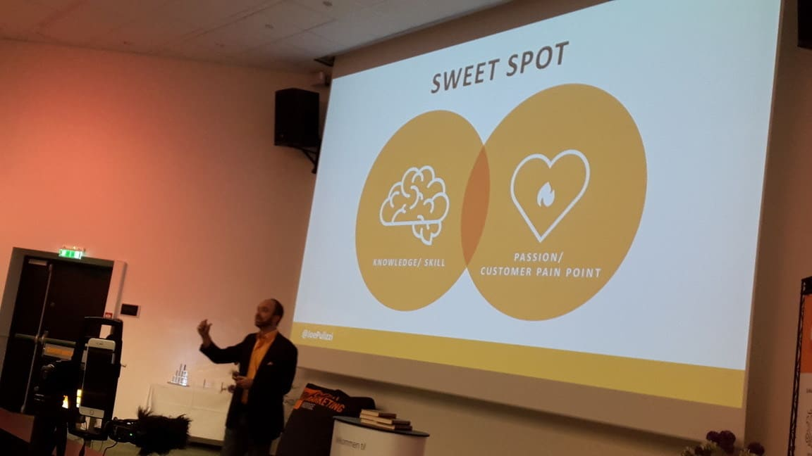 Sweet Spot - Content Inc by Joe Pulizzi