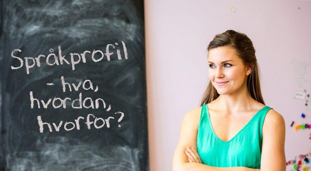 Språkprofil – Et nyttig verktøy for din innholdsmarkedsføring