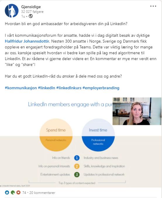 LinkedIn ambassadør